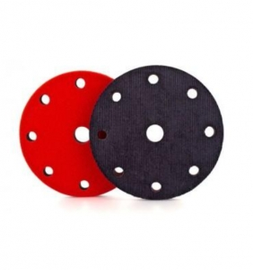 Flexipads 150mm 9-Hole Denim Aggressive Orange Peel Pad