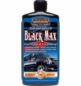 Surf City Garage Black Max Vinyl, Rubber, & Trim Dressing 473ml