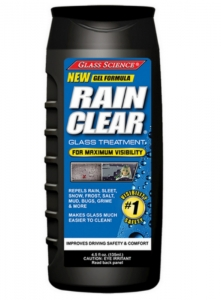 GLASS SCIENCE Rain Clear Windshield Repellant Gel 120ml