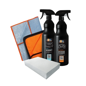 ADBL Zestaw Bonnet 1l + Interior Cleaner 1l + Dodger Towel + Goofer Towel + Magic Sponge