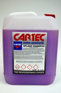 Cartec Splash Shampoo 5L- pH Neutralne z Hydro Woskiem