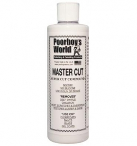 Poorboy's World Master Cut Compound 473ml