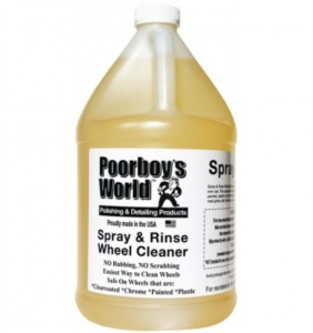 Poorboy's World Spray and Rinse Wheel Cleaner Sprayer 3,8l