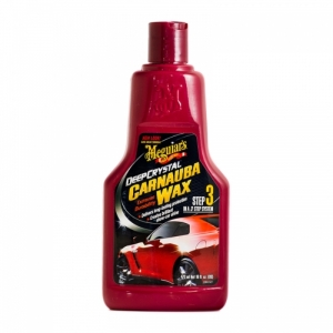 Meguiar's Deep Crystal Carnauba Wax 476ml