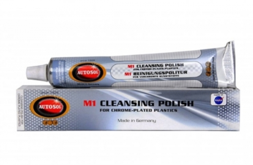 AUTOSOL M1 CLEANING POLISH FOR CHROME PLATED PLASTICS 75ML