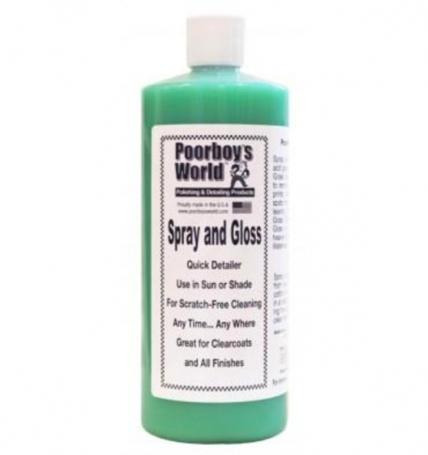 Poorboy's World Spray & Gloss 946ml