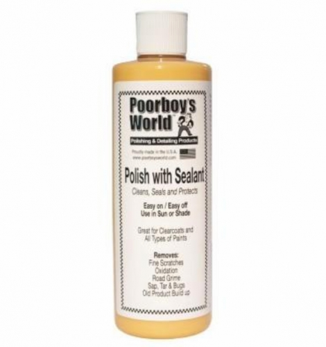 Poorboy's World Polish with Sealant 473ml